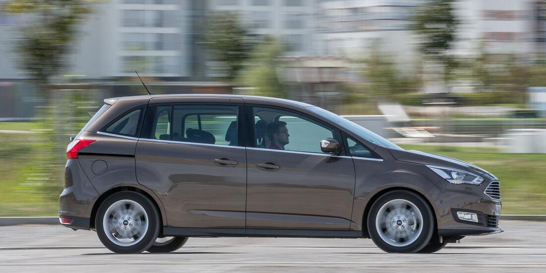 Ford Grand C-Max 1.5 Ecoboost, Seitenansicht