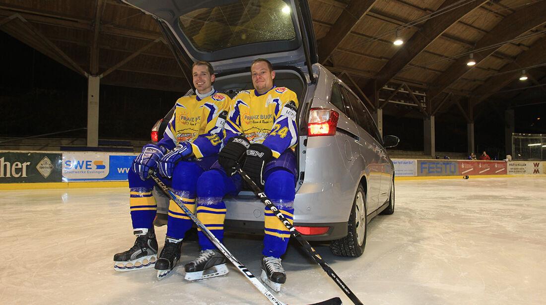 Ford Grand C-Max, Kofferraum, Eishockey-Spieler