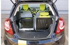 Ford KA Titanium, Kofferraum, Ladefläche