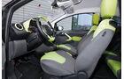 Ford Ka, Innenraum, Sitze