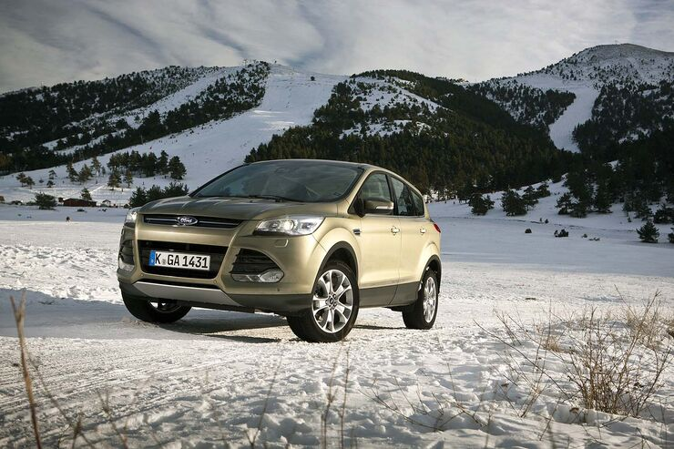 ford kuga 2 0 tdci 4x4 2013 im ersten test knackt er den. Black Bedroom Furniture Sets. Home Design Ideas