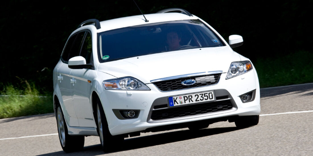 Ford Mondeo-2.2TDCi, Front