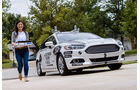 Ford Mondeo Domino's Self-Driving Delivery Vehicle
