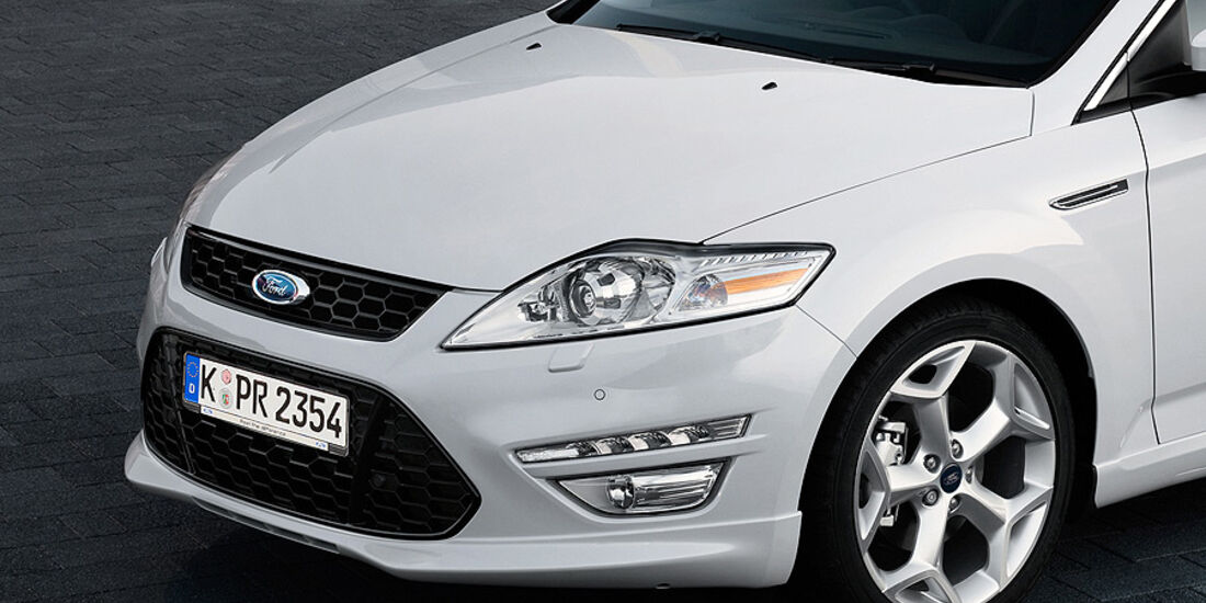 Ford Mondeo Facelift 2010