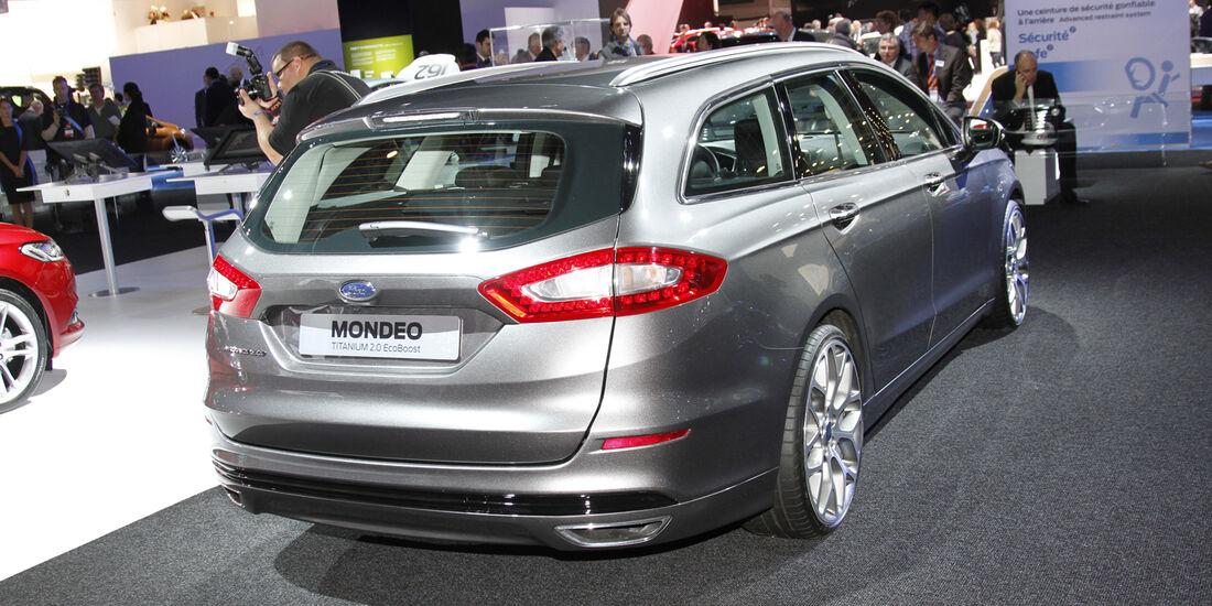 Ford Mondeo, Messe, Autosalon Paris 2012