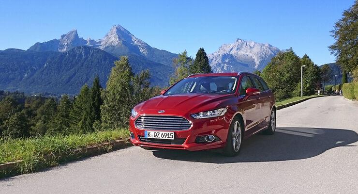 Ford Mondeo Turnier 20 Tdci Titanium Im Test Auto Motor Und Sport