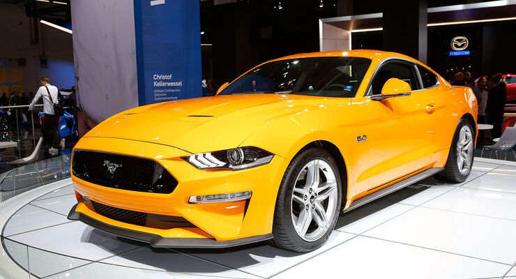 Ford Mustang 50 V8 GT 2018