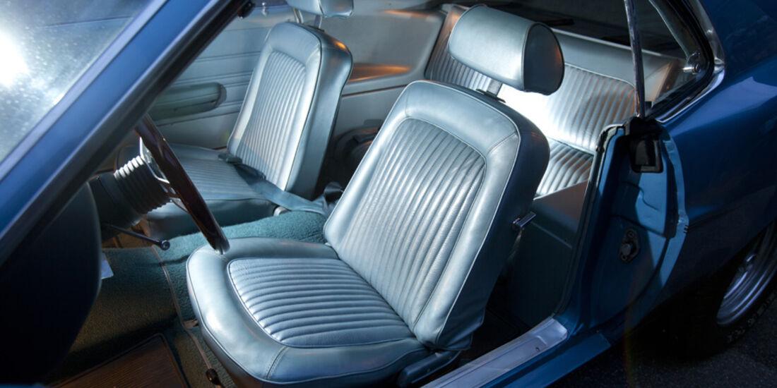 Ford Mustang Boss 302, Fahrersitz