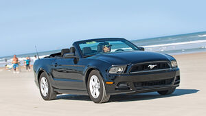 Ford Mustang Cabrio, Frontansicht