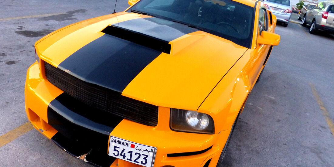 Ford Mustang - Carspotting Bahrain 2014