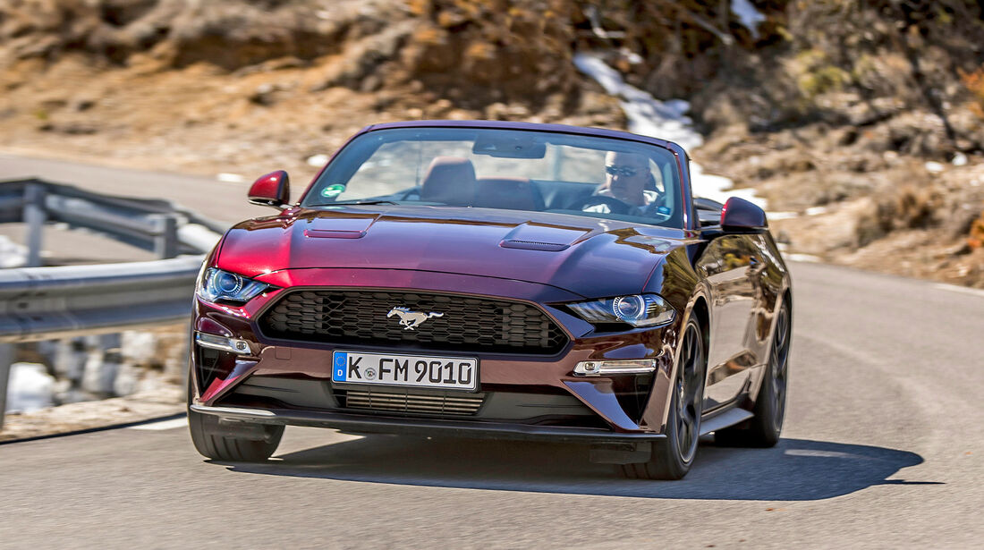Ford Mustang Convertible - Serie - Cabrios bis 50000 Euro - sport auto Award 2019