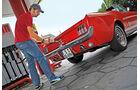 Ford Mustang, Heck, Tanken