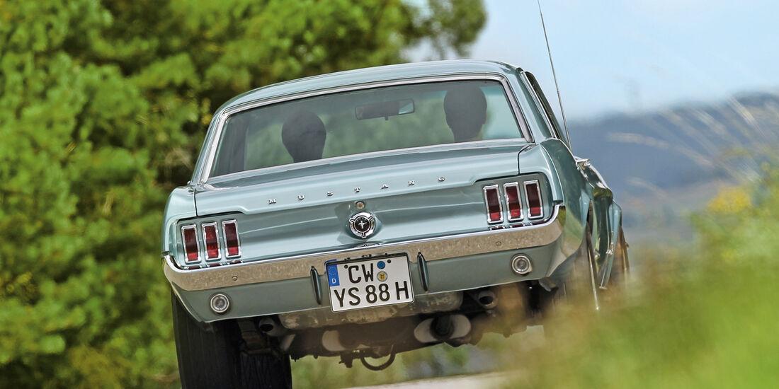 Ford Mustang, Heckansicht