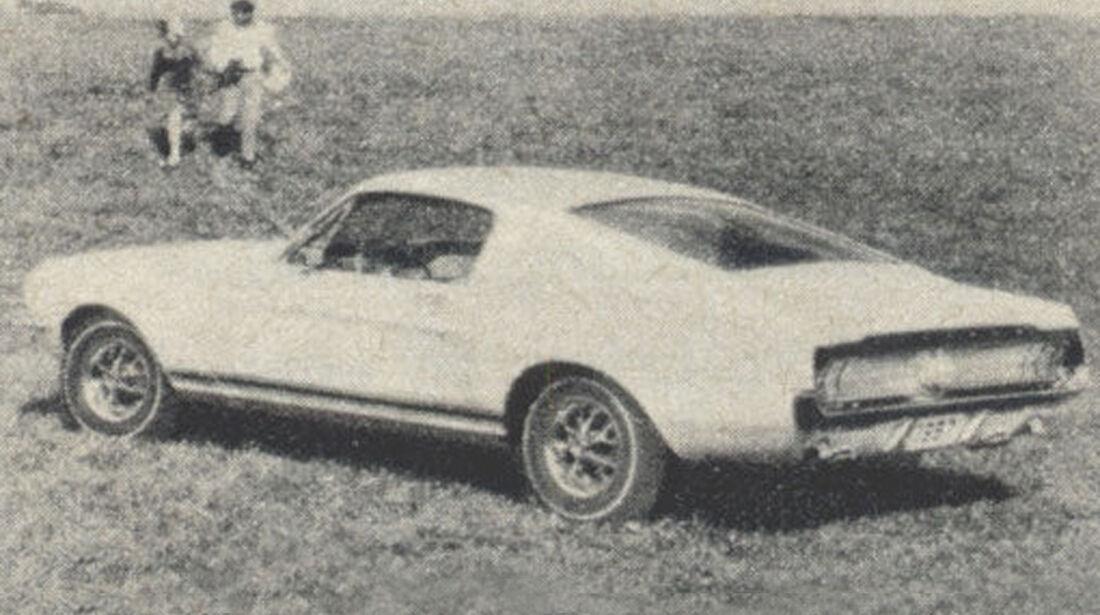 Ford, Mustang, IAA 1967