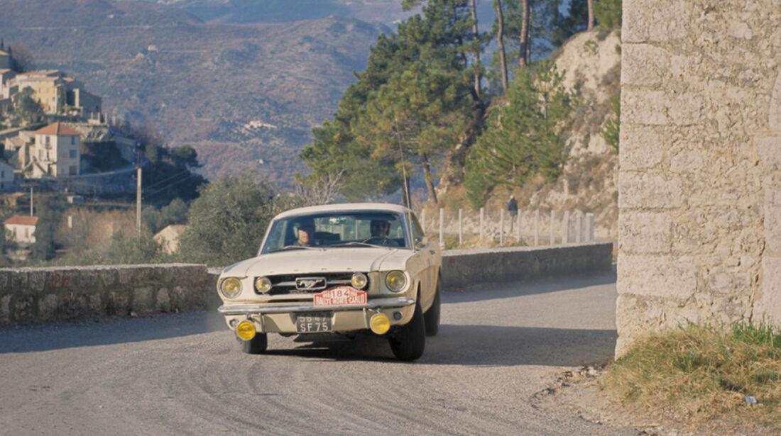 Ford Mustang - Rallye Monte Carlo