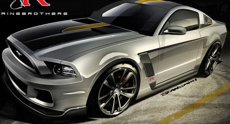 Ford Mustang Sema 2012