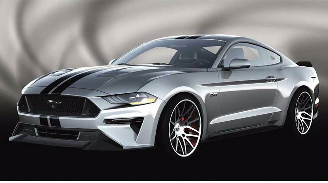 Ford Mustang Sema 2017