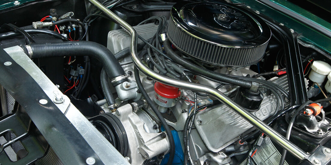 Ford Mustang Shelby GT 500, Motor