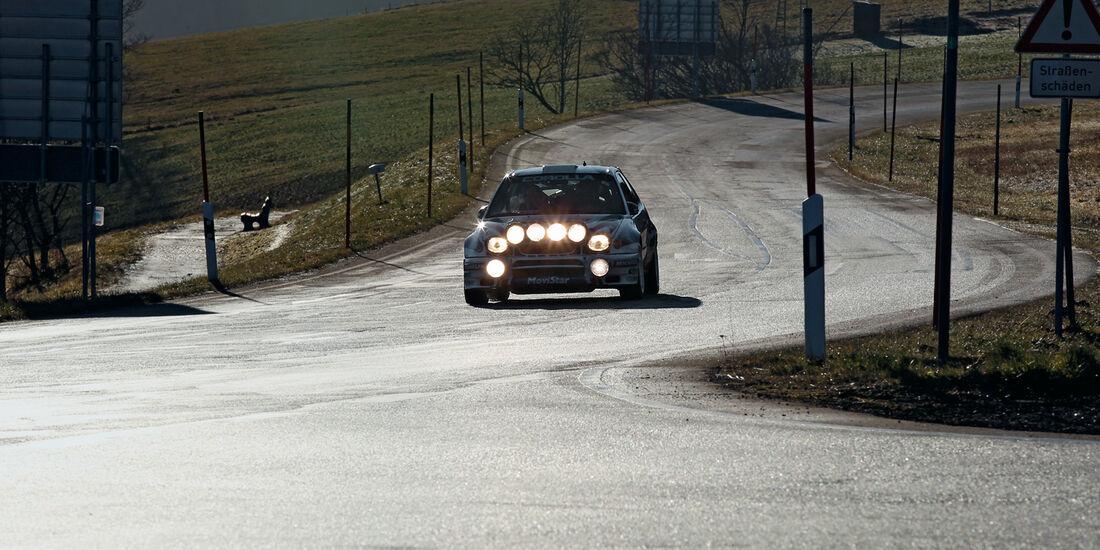 Ford RS 200, Frontansicht, Rallye-Scheinwerfer