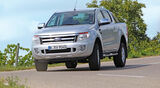 Ford Ranger 2.2 TDCi Doppelkabine Limited, Frontansicht