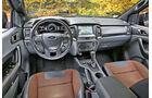 Ford Ranger 3.2 TDCi, Cockpit