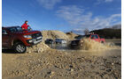 Ford Ranger, Nissan Navara, Toyota Hilux, VW Amarok,