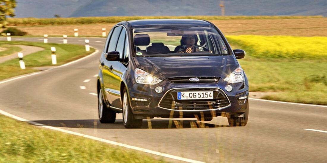 Ford S-MAX 1.6 EcoBoost Titanium, Frontansicht