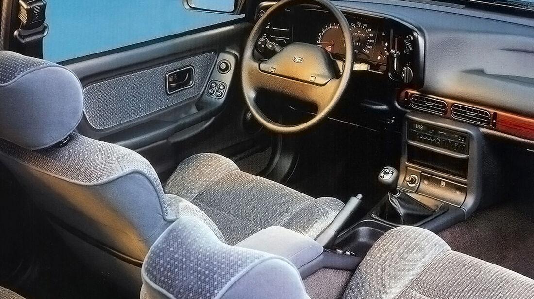 Ford Scorpio, Frontansicht