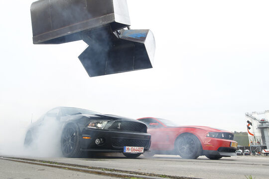 Ford Shelby GT500, Ford Mustang RTR, Qualm