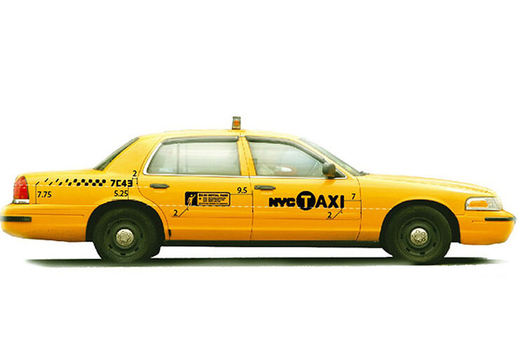 Ford Stretch Crown Victoria New York Taxi