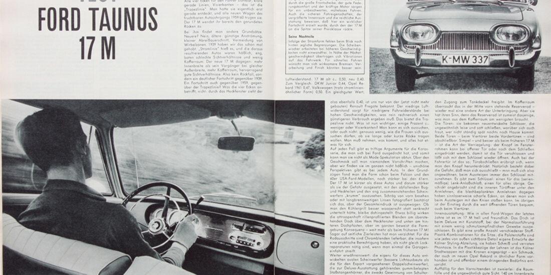 Ford Taunus 17 M, aletr Artikel