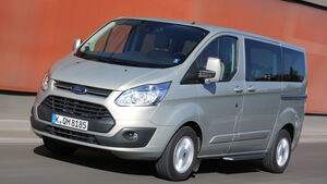 Ford Tourneo Custom, Frontansicht