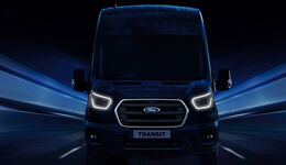 Ford Transit Electric Teaser