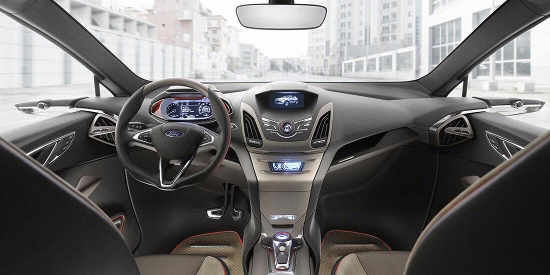 Ford Vertrek Concept, Innenraum, Cockpit