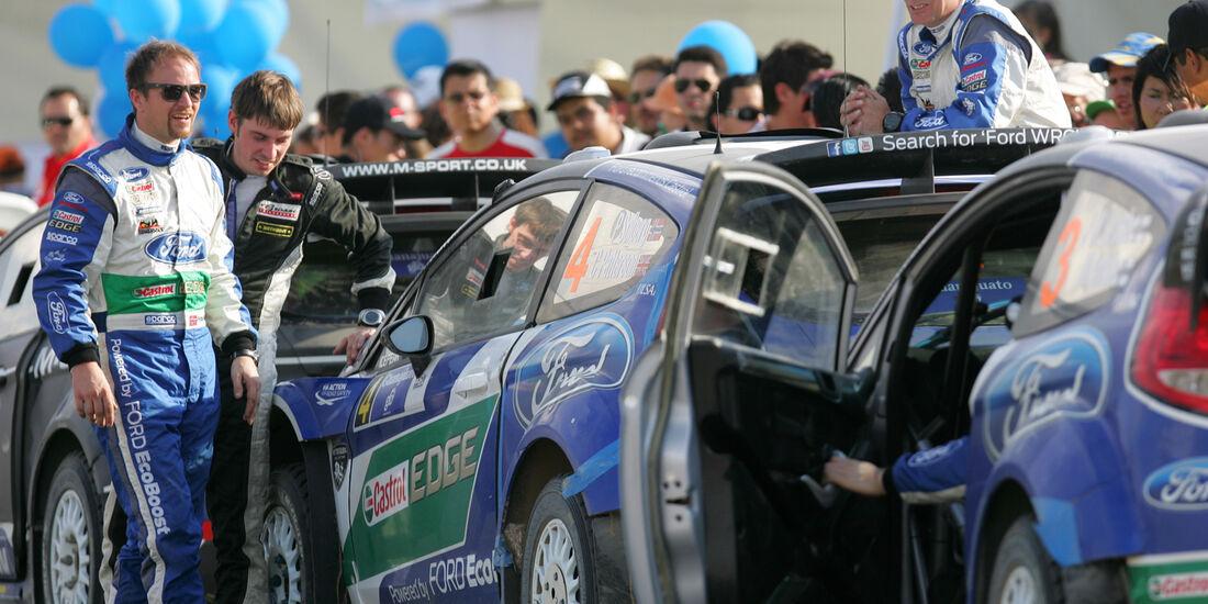Ford WRC Rallye Mexiko 2012