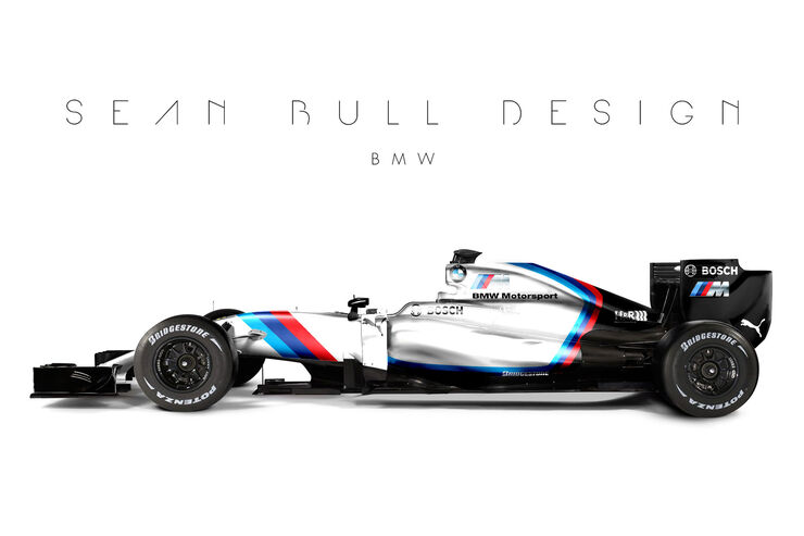 Formel 1 - BMW - Fantasie-Teams - Sean Bull Design