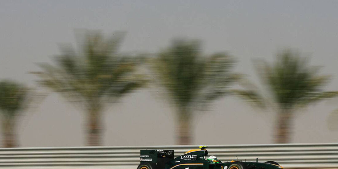 Formel 1 Bahrain 2010 Training