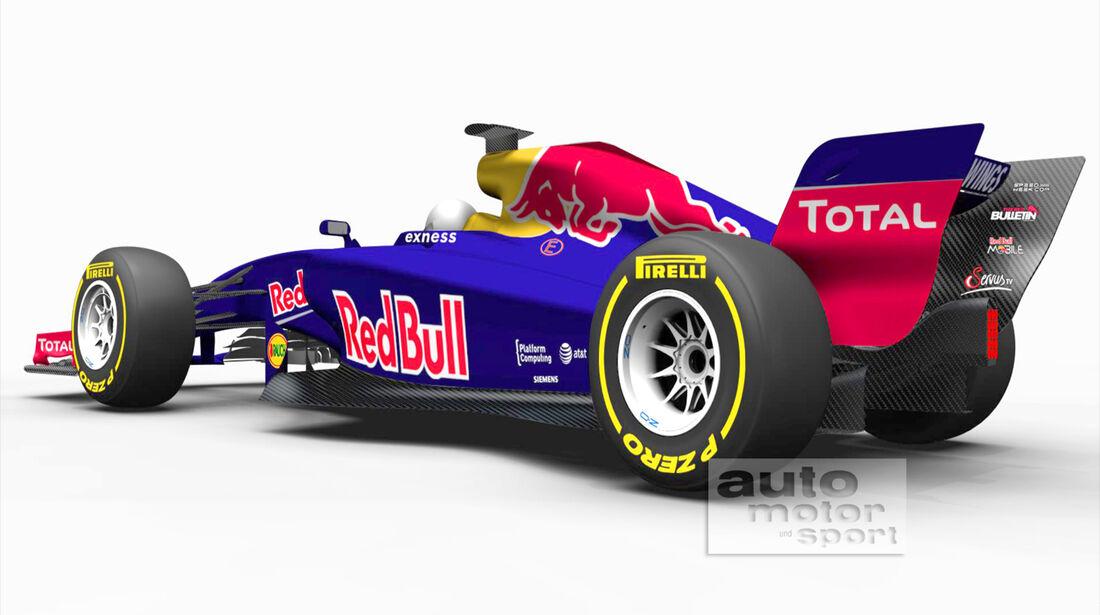 Formel 1 - Concept 2017 Red Bull