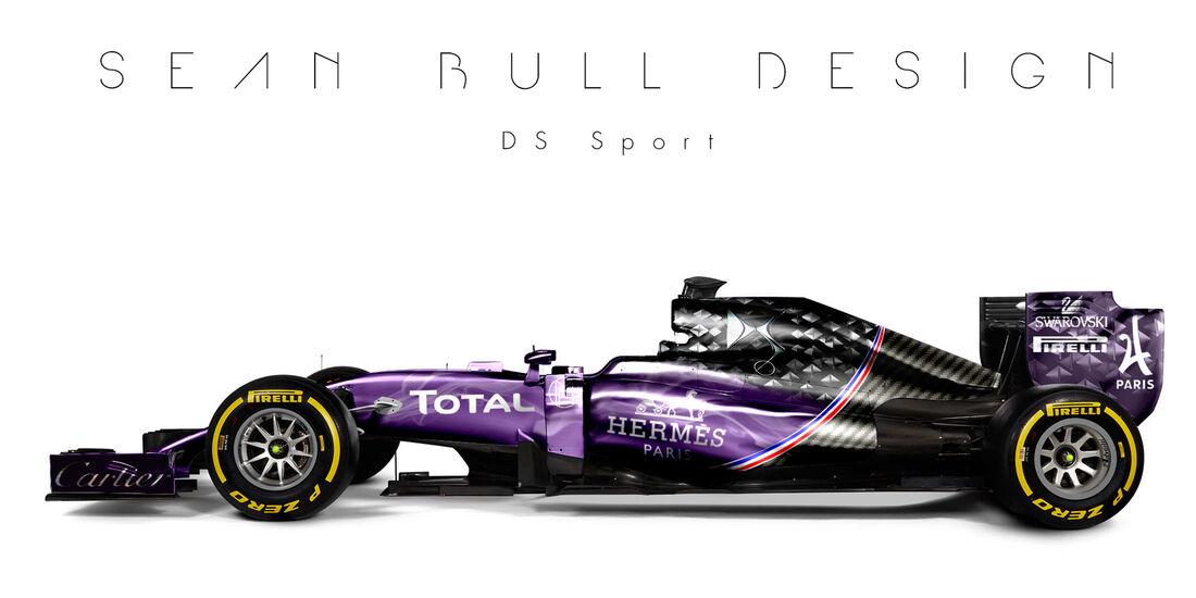 Formel 1 - DS Sport - Fantasie-Teams - Sean Bull Design