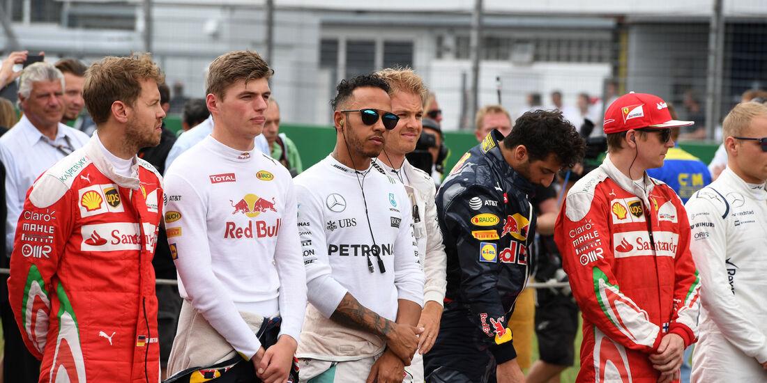 Formel 1-Fahrer - GP Deutschland 2016 - Hockenheim