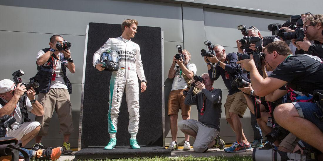 Formel 1 - GP Australien 2015 - Bilderkiste - F1 - Mercedes - Nico Rosberg
