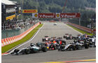 Formel 1 - GP Belgien 2015 - Start - Spa Francorchamps