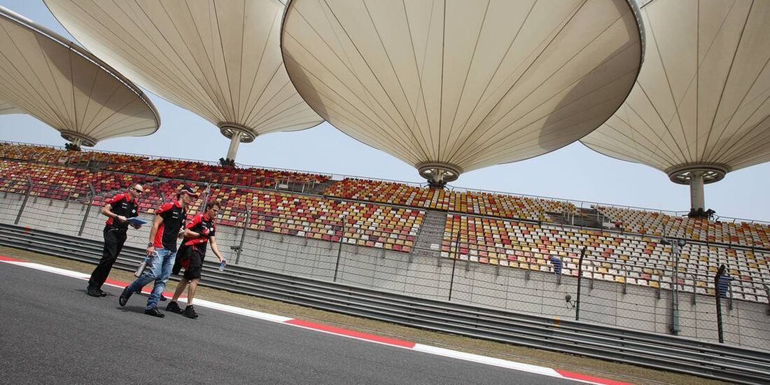 Formel 1 - GP China - 12. April 2012