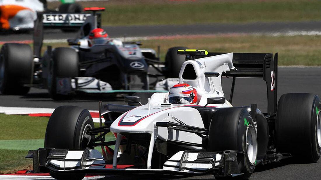Formel 1 GP England 2010 Sonntag
