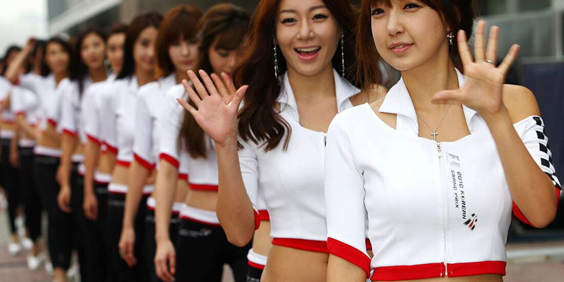 Formel 1 GP Korea 2010 Grid Girls