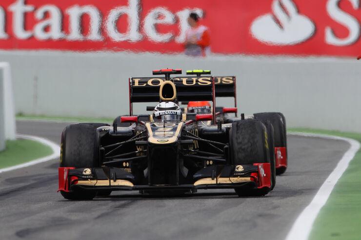 Formel 1 GP Spanien 2012 Lotus