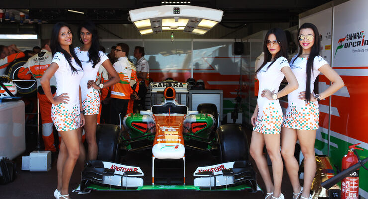 Formel 1-Girls - GP Monaco 2013
