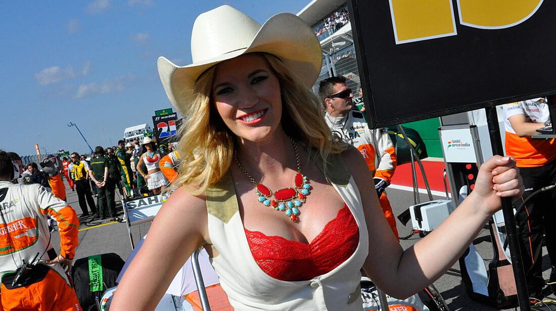 Formel 1-Girls - GP USA 2013