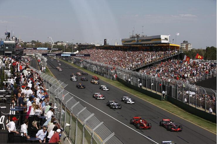 Formel 1, Grand Prix Australien 2008, Melbourne, 16.03.2008