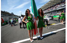 Formel 1 - Grid Girls - GP Mexiko 2016